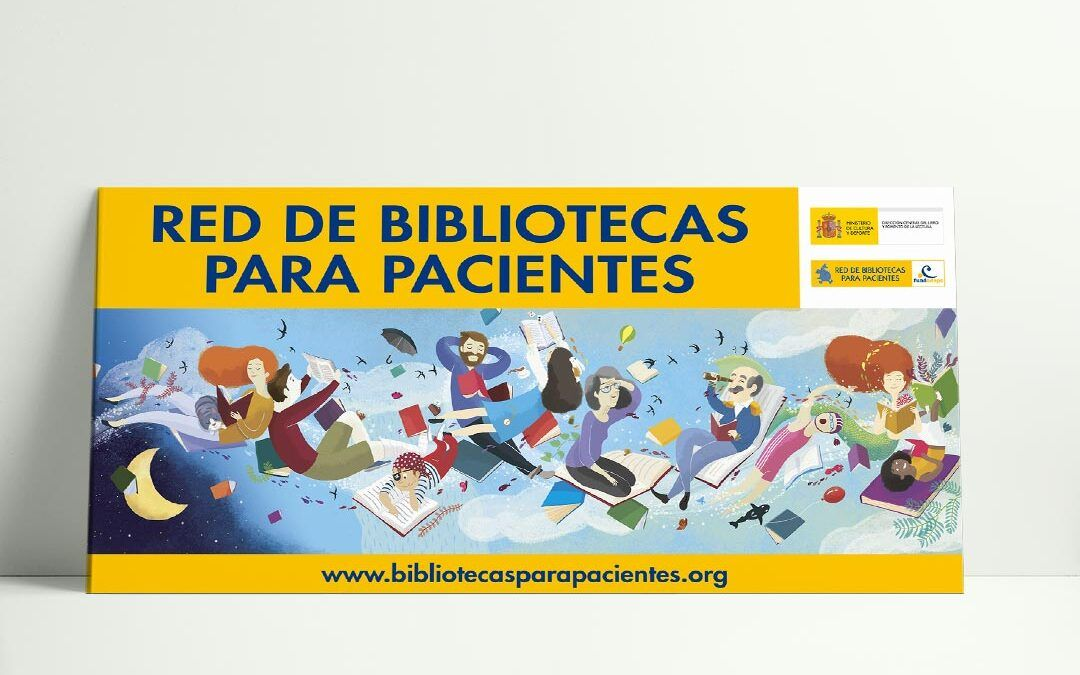 Cartel Red de Bibliotecas para Pacientes 2019